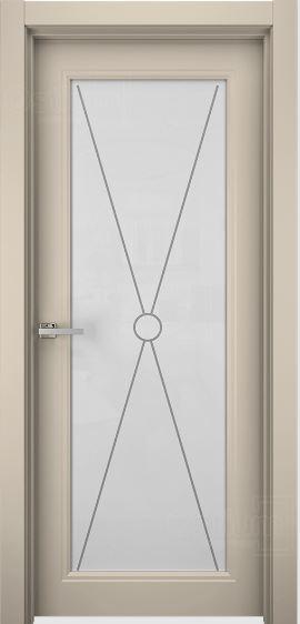 Межкомнатные двери Ostium N23 ДО Эмаль латте