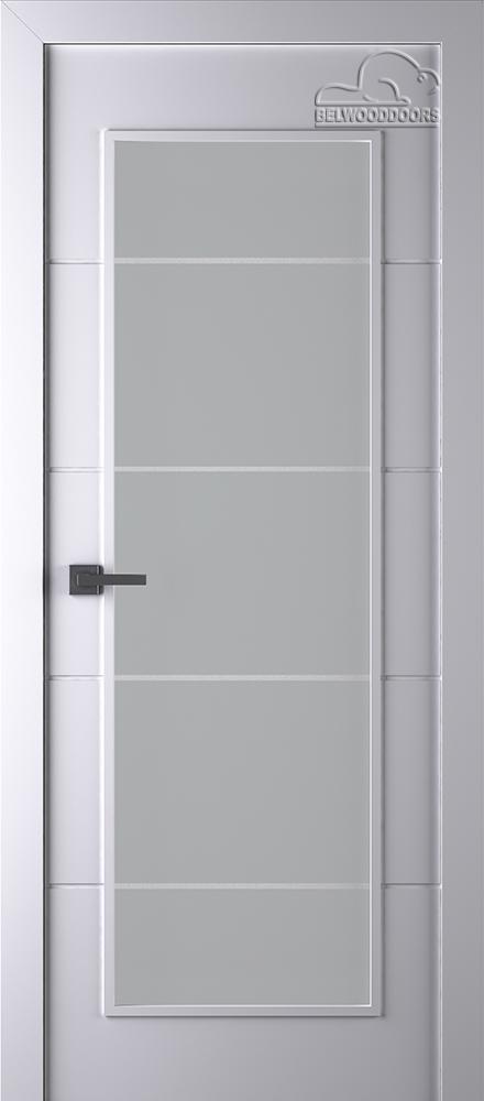 Межкомнатная дверь Арвика ДО Белая